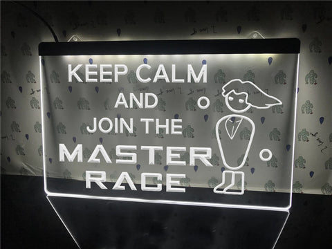 PC Master Race Illuminated Sign