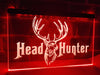 Head Hunter Illuminated Sign