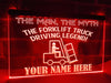 Forklift Truck Legend Personalized Illuminated Sign