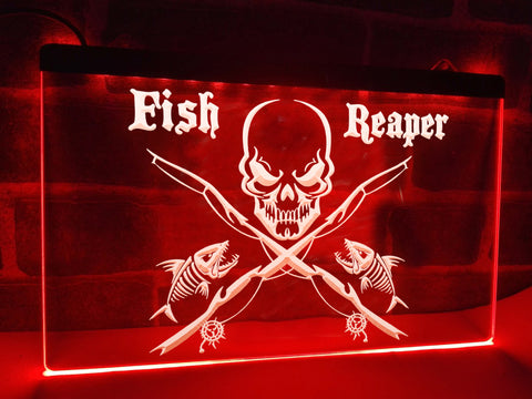 Image of Fish Reaper Illuminated Sign