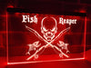 Fish Reaper Illuminated Sign