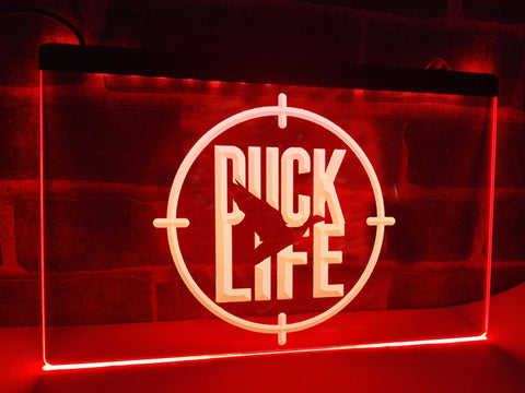 Image of Duck Life Illuminated Sign