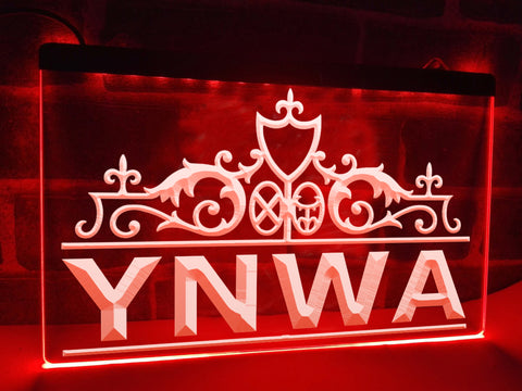 Image of YNWA Illuminated Sign