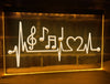 Musical Heartbeat Illuminated Sign