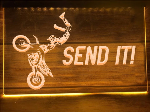 Image of Send It Illuminated Sign