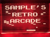 Retro Arcade Personalized Illuminated Sign