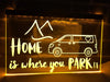 T5 Camper Home is Where You Park it Illuminated Sign
