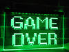 Game Over Illuminated Sign