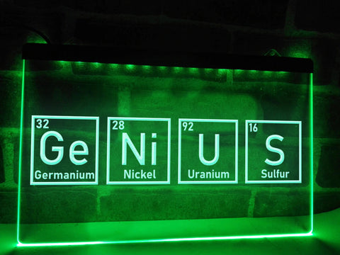 Image of Genius Illuminated Sign
