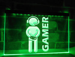 Headset Gamer Illuminated Sign