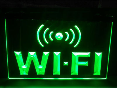 WiFi Illuminated Sign