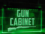 Gun Cabinet Illuminated Sign