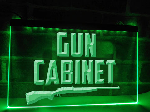 Image of Gun Cabinet Illuminated Sign