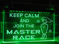 Join The PC Master Race Illuminated Sign