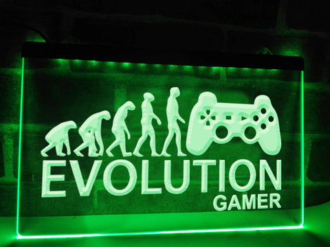 Image of Evolution Gamer Illuminated Sign