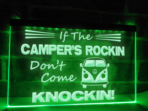 Image of If The Campers Rockin Illuminated Sign