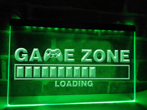 Image of Game Zone Loading Illuminated Sign