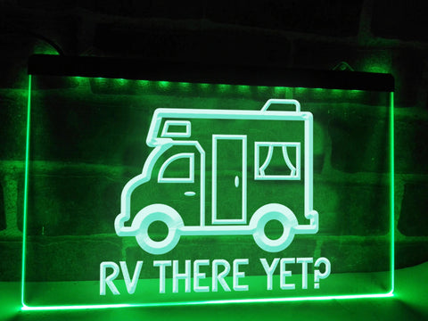 Image of RV There Yet Illuminated Sign