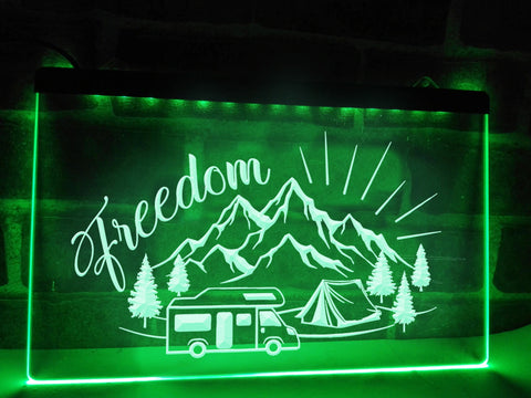 Freedom Illuminated Sign