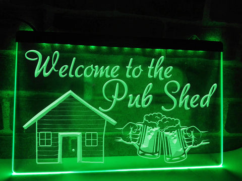 Pub Shed Illuminated Sign