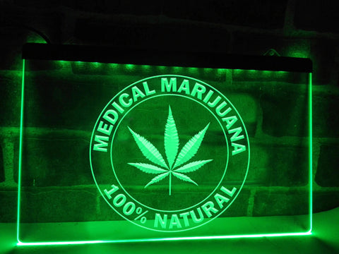 Image of Medical Marijuana Illuminated Sign