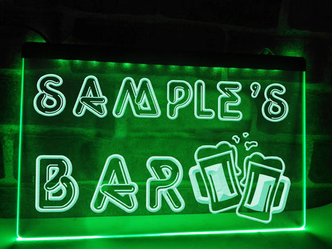 Image of Your Bar Personalized Illuminated Sign