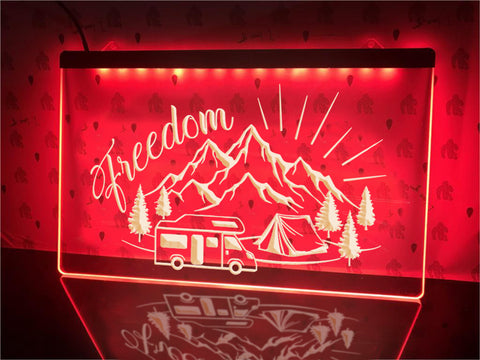 Image of Freedom Illuminated Sign