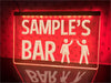 Cheers Bar Personalized Illuminated Sign