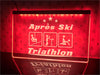 Après Ski Triathlon Illuminated Sign