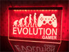 Evolution Gamer Illuminated Sign