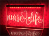 Nurse Life Illuminated Sign