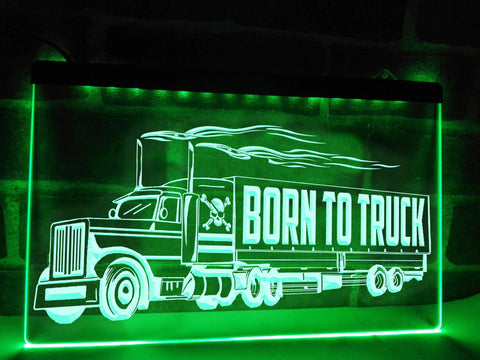 Image of American Trucker Illuminated Sign