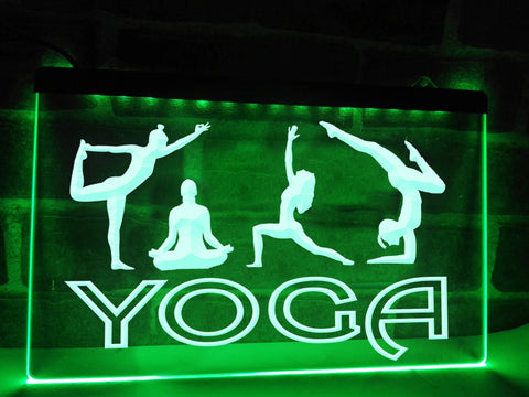 Image of Yoga Illuminated Sign