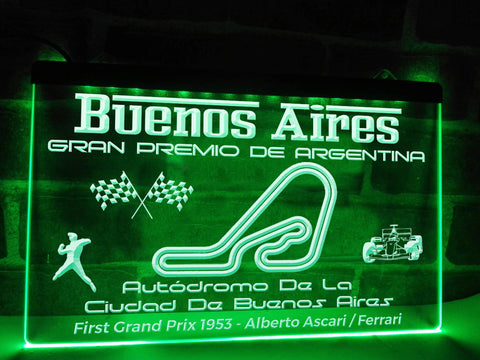 Image of Argentine Grand Prix Illuminated Sign