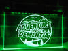 Adventure Before Dementia Illuminated Sign