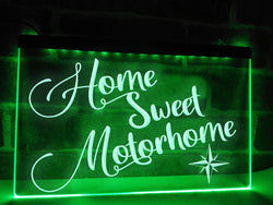 Home Sweet Motorhome Illuminated Sign