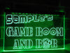 Game Room and Bar Personalized Illuminated Sign