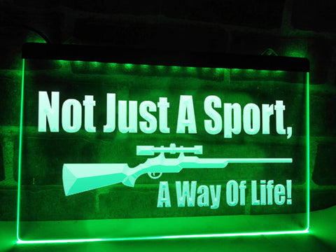 Image of Not Just a Sport Illuminated Sign