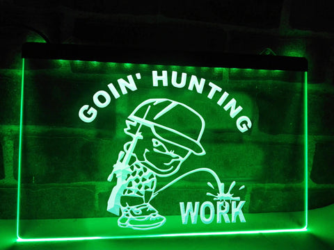 Image of Goin' Hunting Illuminated Sign