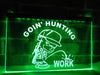 Goin' Hunting Illuminated Sign