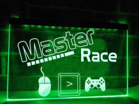 Master Race Illuminated Sign