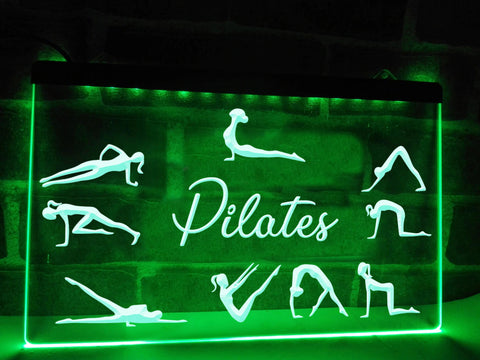 Pilates Illuminated Sign