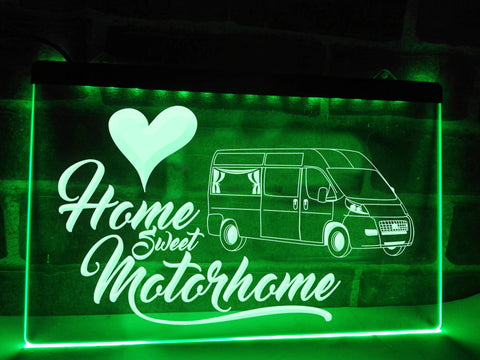 Van Conversion Motorhome Illuminated Sign