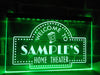 Home Theater Personalized Illuminated Sign