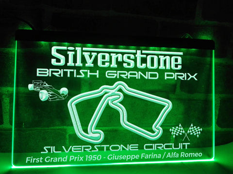 British Grand Prix Illuminated Sign