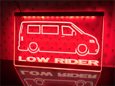 Image of Low Rider Illuminated Sign