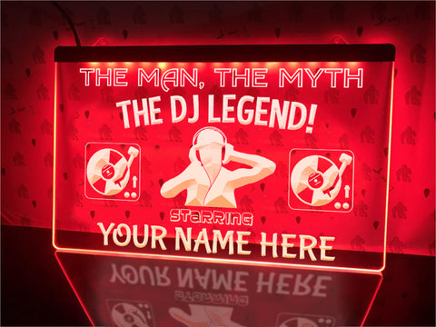Image of LED DJ sign