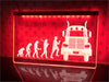 Trucker Evolution Illuminated Sign