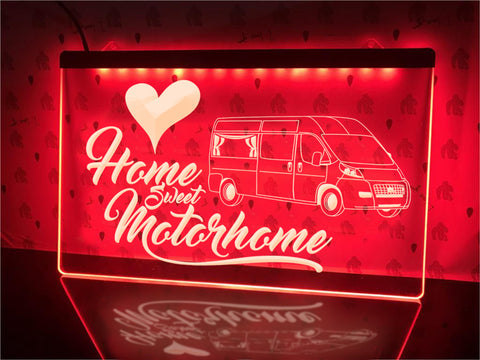 Image of Van Conversion Motorhome Illuminated Sign