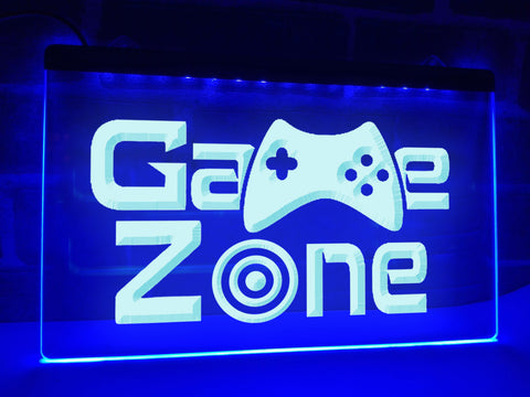 Game Zone Illuminated Sign